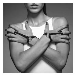Bracelets harnais pour mains collection MAZE BIJOUX INDISCRETS